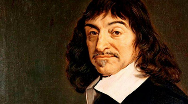 Quadro com imagem de Renê Descartes. O Racionalismo na Modernidade.