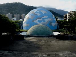 Foto do Planetário da Gávea.