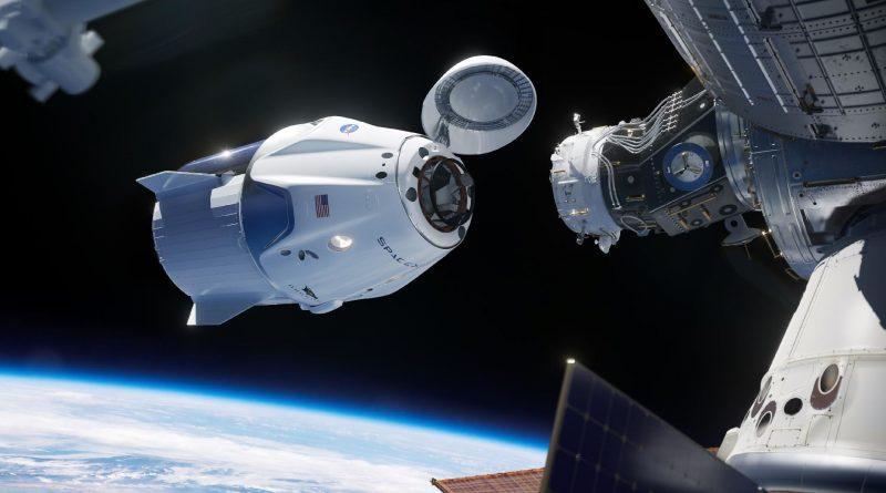 Foguete próximo a estação espacial. A Indústria Cultural e a influência nas (das) ciências, especialmente a Astronomia.
