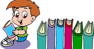 """desenho de um menino com vários livros. Referências Bibliográficas do texto """"A filosofia e a Astronomia: instâncias em que o thauma aparece"""""""