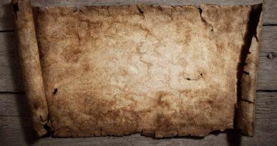 """Um pergaminho. Algumas das """"obras"""" de Aristóteles: a questão da Lógica e da Causalidade."""