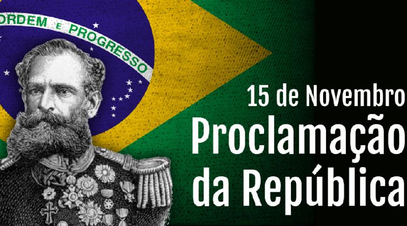 15 de Novembro de 1889. Proclamação da República