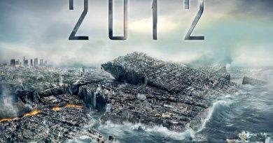 Imagem mundo sendo destruído e o ano 2012. A Previsão para o Fim do Mundo em 2012