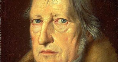 pintura de Hegel. Dialética Hegeliana