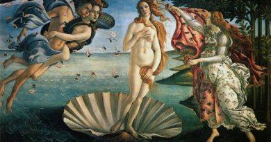 O quadro O nascimento de Vênus, de Sandro Botticelli. O Renascimento e a Retomada do Racionalismo.
