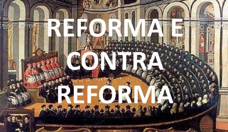 Uma espécie de parlamento e a frase Reforma e Contra Reforma.