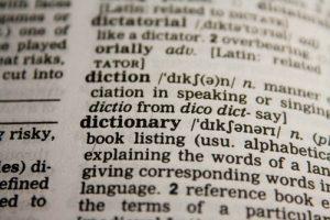 Um livro com Vocabulários. O que é ser um Ném?
