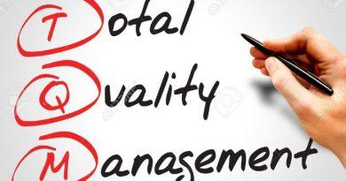 TQM - Gestão da Qualidade total escrita em Inglês. Treinamento, Palestra ou Workshop – Gestão Pela Qualidade Total.
