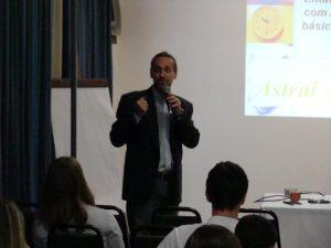 Benito Pepe Palestrando no EGEJ
