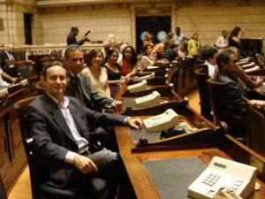 Benito Pepe na Câmara Municipal do Rio de Janeiro
