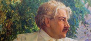 Uma imagem de Oswaldo Cruz em Pintura.