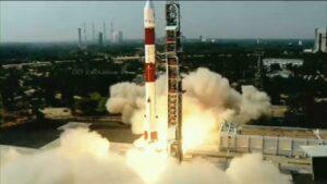 Foguete da Índia PSLV-C51 que levou nosso satélite Amazônia 1